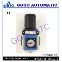 Buy cheap Air Source Treatment Unit With Gauge Embedded Air Pressure Regulator Filter Lubricator from Wholesalers