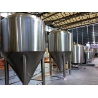 Buy cheap Refrigerated Stainless Steel Conical Fermenter 1000L Large Brewing Equipment from Wholesalers