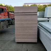 China 25kg 50mm modified eps sandwich panel boards with protective film both side factory