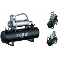 China Heavy Duty Durable Portable Compressed Air Tank For Cars Fast Inflation Black factory