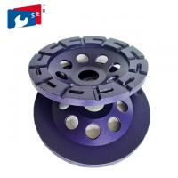 Buy cheap Stone Angle Grinder Diamond Cup Wheel , 125mm Diamond Grinding Wheel from Wholesalers