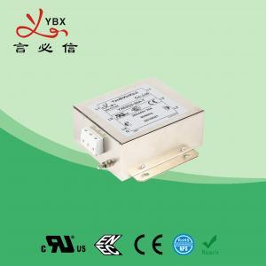 China Yanbixin 8 Amp Electric RFI Power Filter , RFI Power Line Filter For Locomotive factory