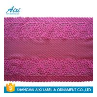 China White Guipure Lingerie Lace / Dresses Guipure Lace / Guipure Chemical Lace Fabric Nylon Stretch Lace factory