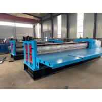 China PPGI G550 Thikness 0.12-0.3mm Barrel Corrugated Roof Panel Roll Forming Machine with 20m/min on sale