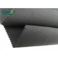 Buy cheap Medium Weight 76 Gsm Twill Woven Interlining Fabric With PA Double Dot from Wholesalers