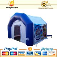Inflatable Small Outdoor Shop Tent For Party / Waterproof Air Thicket Booth