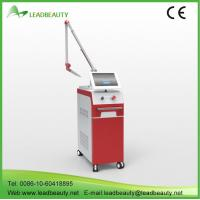 China Beauty device tattoo removal laser Q switch nd yag laser removal and hair removal machine on sale