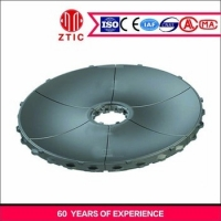 China Casting Steel Mining Machine Spare Parts Grinding Table High Wear Resistant factory