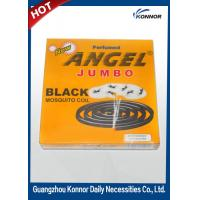 Quality Black Citronella Mosquito Coils , D-Allethrin Mosquito Coil For 8Hours - 10Hours for sale