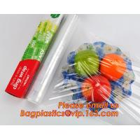 Buy cheap Waterproof transparent pe pvc 12mic 30cm customized food wrap,China stretch cling wrap manufacturer pe food wrap with from Wholesalers