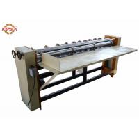 China 1800 Four Bar Rotary Cutting Creasing Machine , Corrugated Cardboard Box Dividers For Corrugated Sheet factory