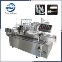 China Ceramic Pump Spray Bottle Liquid Oil Filling Plunger Sealing Capping Machine factory