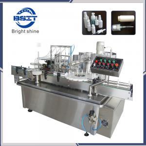 China Pet Bottles 10-30ml New Design Aerosol Spray Filling Machine factory