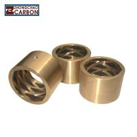 Buy cheap Self Lubricating Graphite Bearings High Temperature Copper Casting OEM Service from Wholesalers