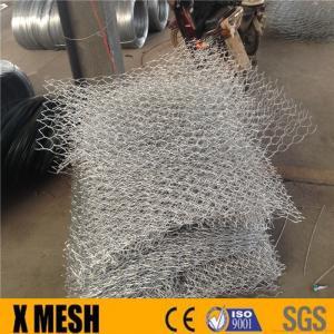 China 2 x 1 x 1, 2 x 1 x 0.5m, Galfan, Galvanized Gabion Baskets, Corrosion Resistance Capacity on sale