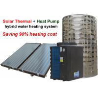 Buy cheap 220 / 380 V Hybrid Water Heater , Air Heat Pump Water Heater 4.0 Cop from wholesalers