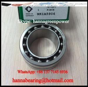 NKIA5912 Single Direction Needle Roller / Angular Contact Ball Bearing 60x85x34mm