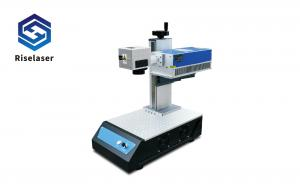 China EZCAD Control 355nm 3W Tabletop Laser Engraving Machine on sale