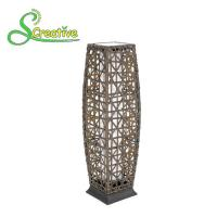 Buy cheap Outdoor Decorative Rattan Solar Garden Lights Energy Saving 1800lm-7200lm from Wholesalers