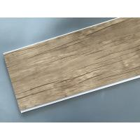 China Wood Color Plastic Laminate Wall Covering , Pvc Laminated Ceiling Board factory