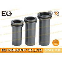 High Purity Carbon Graphite Crucible Copper Gold Machined With High Density