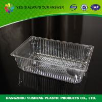 Buy cheap Plastic Bakery Disposable Food Trays Packaging For Biscuit from Wholesalers