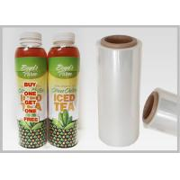 Buy cheap Bottle Sleeves Biodegradable Laminating Film Customized Thickness / Size from Wholesalers