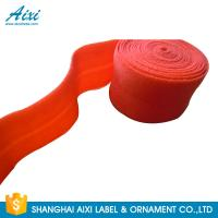 China Decorative Coloured Fold Over 10 - 30mm Elastic Binding Tape For Underwear factory