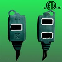 China US ETL approved 2+1 outlet extension cord factory