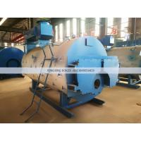 Quality Perfect 4 Ton Natural Gas Fired Steam Boiler WNS 4-1.25-YQ  Industrial Fire Tube for sale