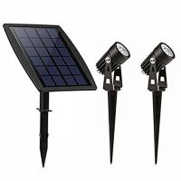 China Highly Bright Solar Panel Landscape Lighting For Lawn / Patio / Yard / Walkway factory