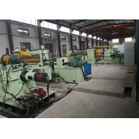 Buy cheap 5-15 Strips High Linear Speed Stainless Steel Slitting Machine Heavy Load Long Durability from Wholesalers
