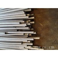 China Plain End Stainless Steel Seamless Tubing / Solution Pickled Cold Drawn Tubes on sale