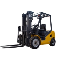 China Pneumatic Tire 3 Ton Fd30t Diesel Forklift Truck For Lifting factory
