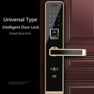 Buy cheap Semiconductor Universal Fingerprint Code Lock , Smartphone Controlled Door Lock from Wholesalers