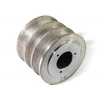Quality Sintered diamond rotary dressing wheel with muti groove for sale