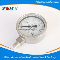Quality Bourdon Tube Caisson All Stainless Steel  Pressure Gauge ZOHA or OEM wholesale