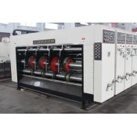China Alloy Steel Die Cutting Corrugated Carton Box Making Machine And Stacker Machine factory