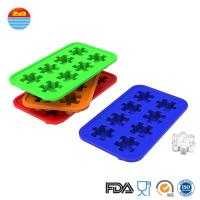 Buy cheap Custom Creative Funny Interesting Cute Design Puzzle Shape Ice Cube Maker Mould Silicone Ice Tray Mold from Wholesalers