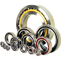 Buy cheap Nylon Cage Single Row Angular Contact Bearing, Air Compressor Stainless Steel Ball Bearings from Wholesalers