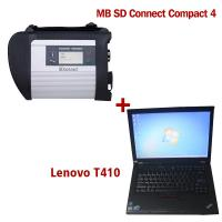 Buy cheap 2018.7V Wireless MB SD C4 Mercedes Diagnostic Tool With I5 CPU 4G RAM Lenovo T410 from Wholesalers
