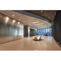Buy cheap Interior Custom Ceilings , Decorative Perforated Metal Ceiling Tiles Neutral Package from Wholesalers