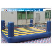 China Custom Sports Bouncy Boxing Inflatable Wrestling Ring For Adult / Kids factory