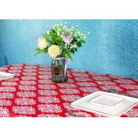 China Wedding / Birthdays Disposable Table Cloths , Printed Disposable Table Covers factory