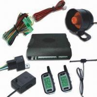 China FM Two-way Car Alarm System with Emergency Disarm and Remote Trunk Release factory