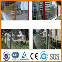 Buy cheap ISO9000 certificated PVC painted wire mesh fence from Wholesalers