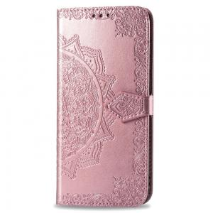 China Flower PU Leather Soft iPhone11 Leather Flip Cases factory