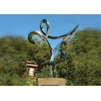 Buy cheap Professional Stainless Steel Outdoor Sculpture , Stainless Steel Art Sculptures from Wholesalers
