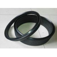 China Black NBR FKM PTFE Silicone Rubber Washers / Hydraulic Vee Packing Seal on sale