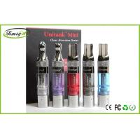 China Kanger Mini Unitank E Cig Refillable Clearomizer blue purple With Stainless Steel Drip Tip on sale